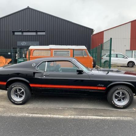 Mustang Fastback de 1969 Mach 1 Dossier complet